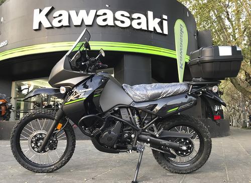 kawasaki klr 650 0km touring 12 cuotas en stock