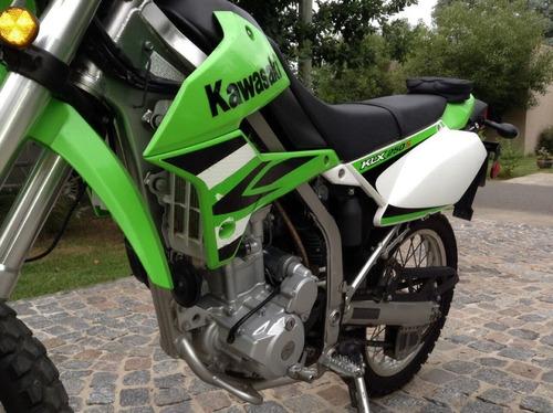 kawasaki klx 250s unica r 2011 6.800 kilometros recibo/menor