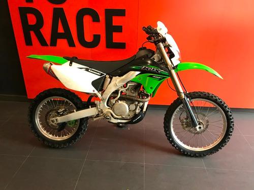 kawasaki - klx 450 r - verde