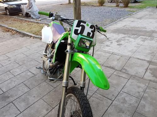kawasaki klx 650r verde