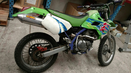kawasaki klx650r 1993 + rueda aparte armada con tacos
