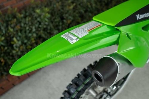 kawasaki kx 250 f 0km linea 2020 en stock! color lime.