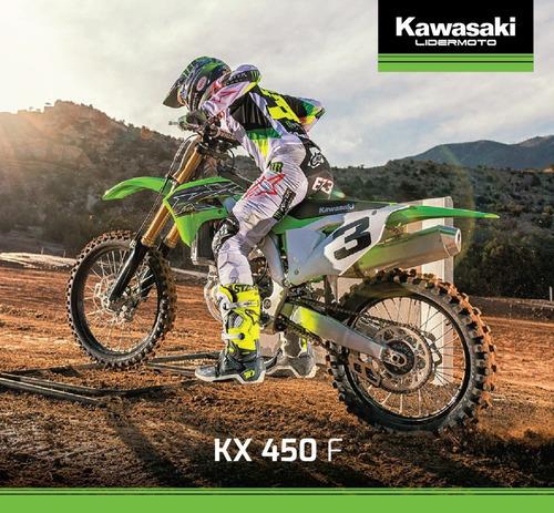 kawasaki kx 450 f -2020- exclusivo lidermoto