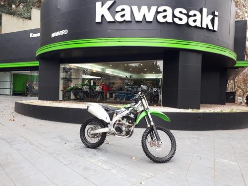 kawasaki kx 450 f cross usada año 2012 pura sangre!!