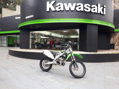 kawasaki kx 450 f enduro usada año 2012