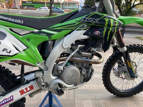 kawasaki kx 450f verde 2016