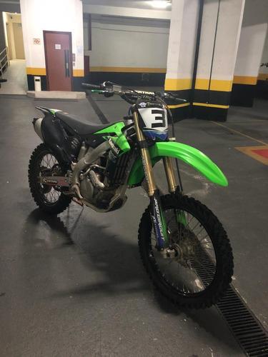 kawasaki - kx250f - 2013 - moto muito nova e revisada