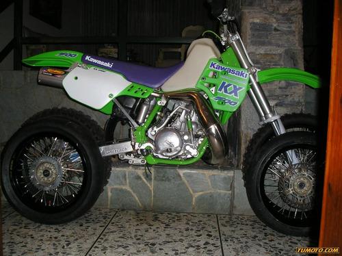 kawasaki kx500 dos tiempos 251 cc - 500 cc