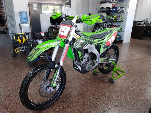kawasaki kxf 250 2017  impecable - financiacion