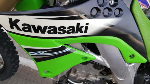kawasaki kxf450 como nueva.patentada . motorhaus rosario