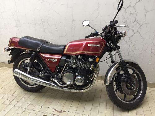 kawasaki kz1000 mkii 1980