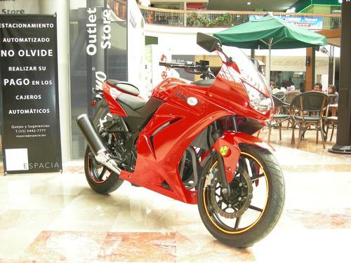 kawasaki modelo ex250 ninja año 2010