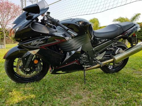 kawasaki moto viaje pista ruta zx14