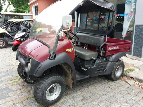 kawasaki mule 4x2 muy sano, financio entrega 1800 y36 cuotas