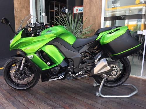 kawasaki ninja 1000 2014/2015 verde