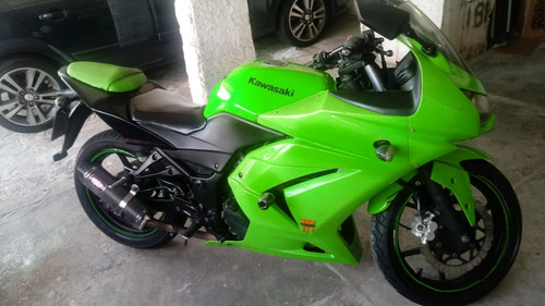 kawasaki ninja 2010 205cc impecavel troco carro ou moto