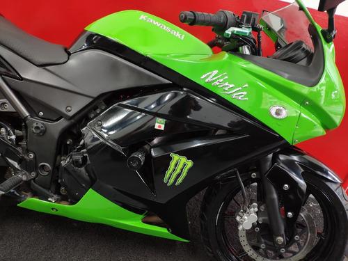 kawasaki ninja 250 r 250r 2010 verde