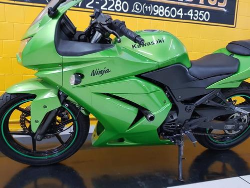 kawasaki  ninja 250 r - verde  - 2011 - km 44.000.
