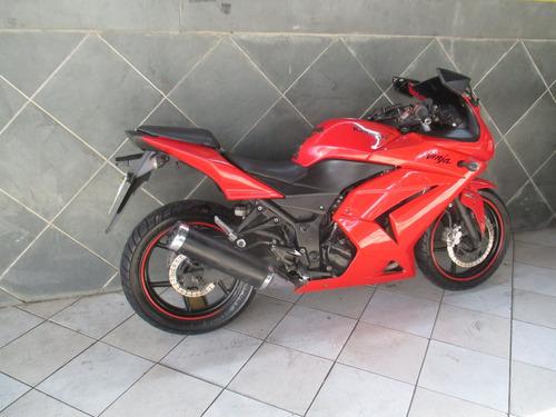 kawasaki ninja 250 vermelha 2010
