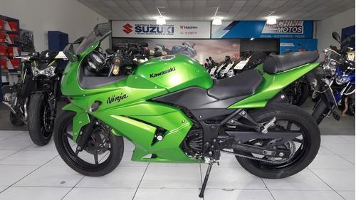 kawasaki ninja 250r 2011 verde toda original