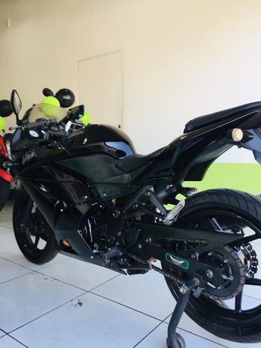 kawasaki ninja 250r 2012 top de linha
