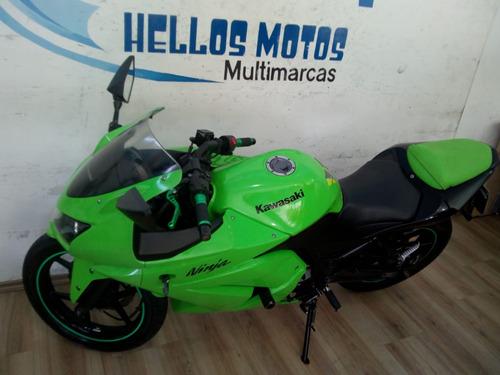 kawasaki ninja 250r aceito moto fin ate 48x aceito cartao