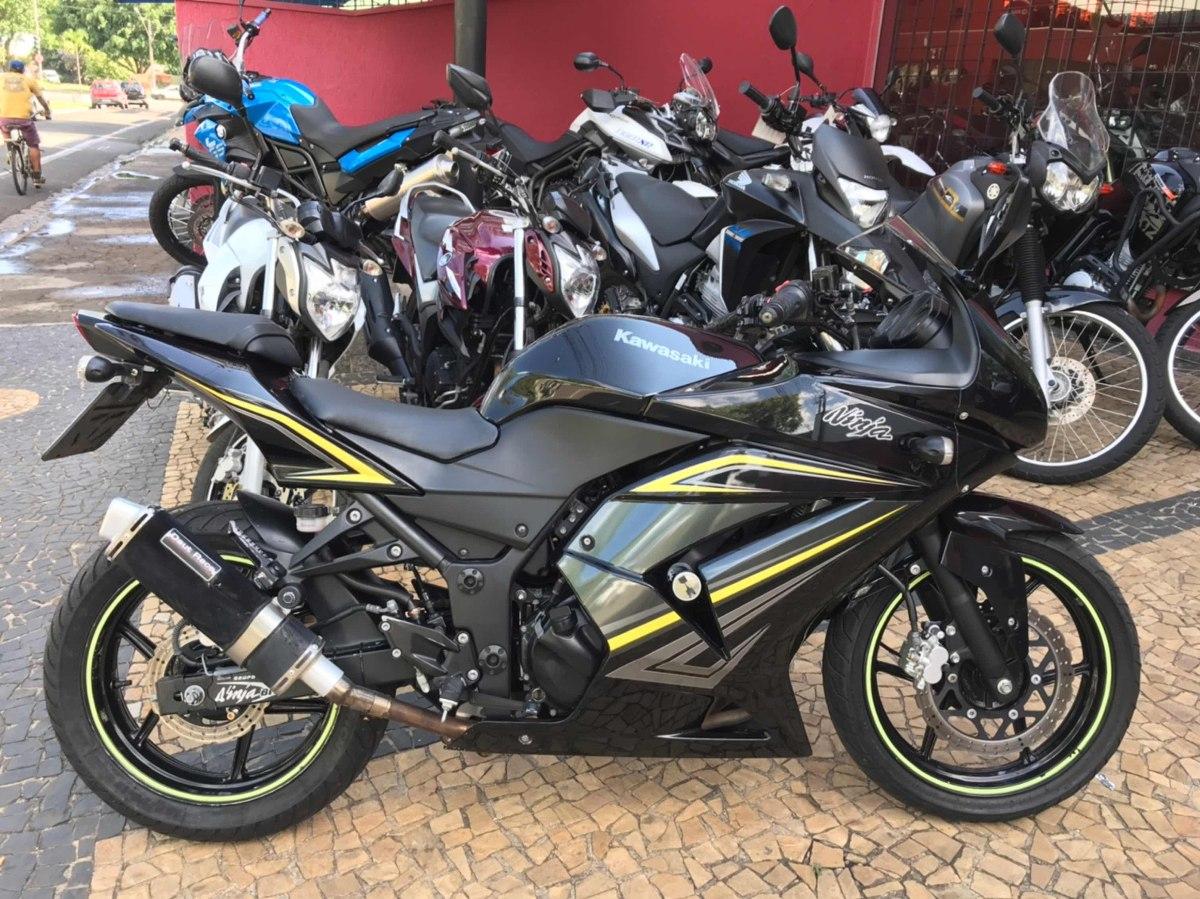 Kawasaki Ninja 250r Ninja 250 R 12500 Em Mercado Libre
