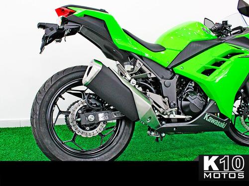 kawasaki ninja 300 17/18 sport 0km - verde