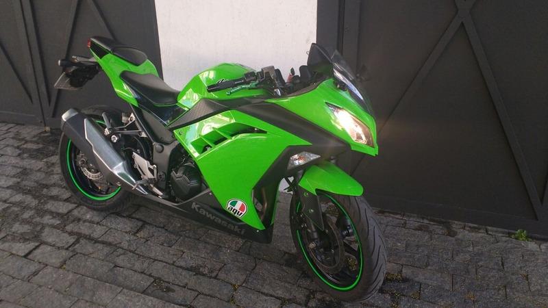 kawasaki ninja 300 2013 impecável troco moto financio 2013