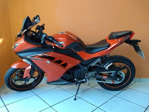 kawasaki ninja 300 2017 laranja