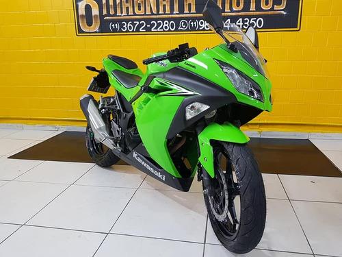 kawasaki ninja  300 2018 - verde - impecável