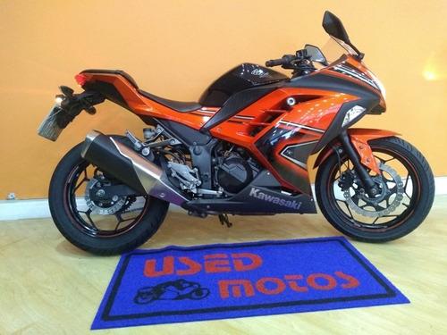 kawasaki ninja 300 abs 2014 laranja
