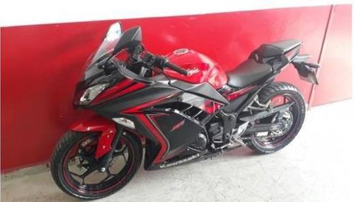 kawasaki ninja 300 abs 2015 vermelha vermelho