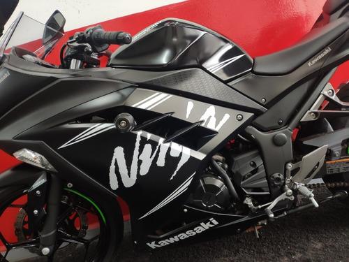 kawasaki ninja 300 abs 2018 preta preto