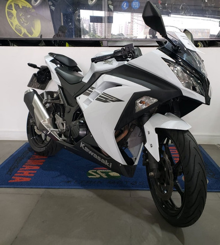 kawasaki - ninja 300 semi - nova