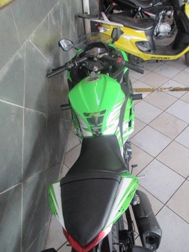 kawasaki ninja 300 verde 2013 linda