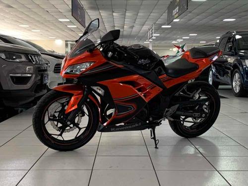 kawasaki ninja 300cc abs edição limitada ano 2014 financio