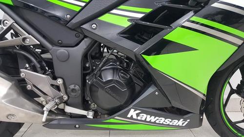 kawasaki ninja 300r preta 2017/2017