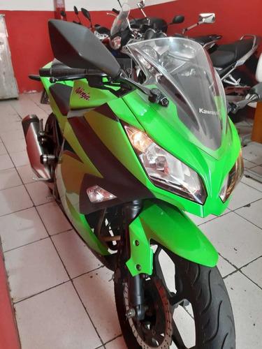 kawasaki ninja 300r verde nova