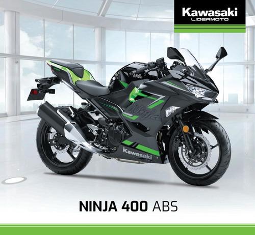 kawasaki ninja 400 abs  2020 lidermoto- todo el line up!