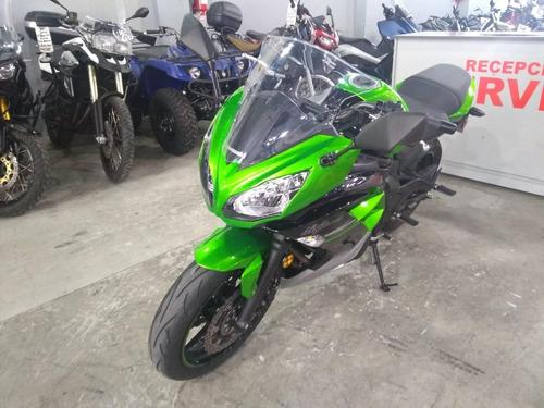 kawasaki ninja 650 2017 solo 800 km dolar mep - mg bikes