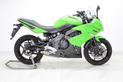 kawasaki ninja 650 r 2011 verde