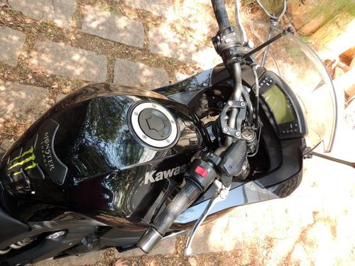 kawasaki ninja 650r abs novíssima só roda na estrada