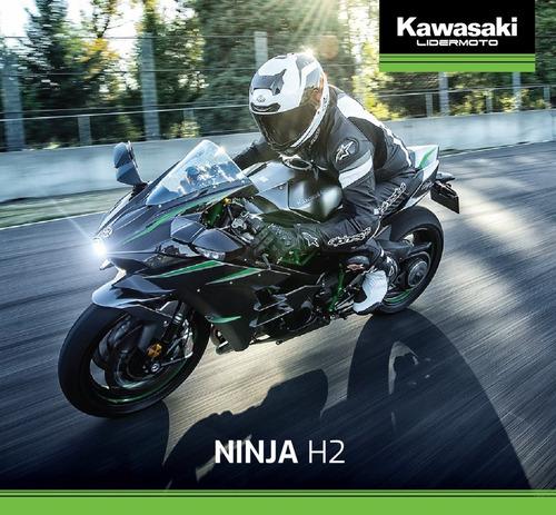 kawasaki ninja h2  2020  exclusivo lidermoto