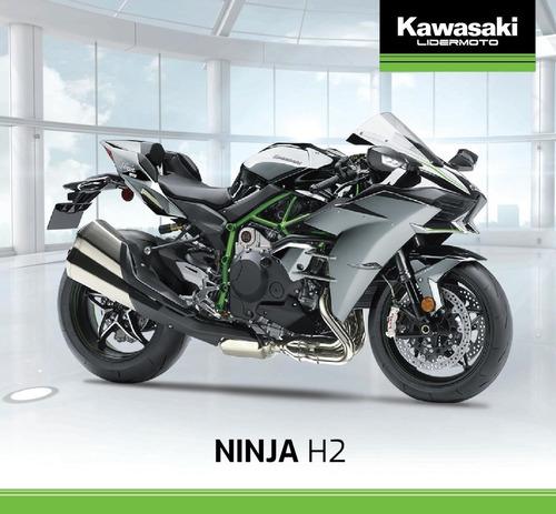 kawasaki ninja h2  2020   lidermoto  line up completo !