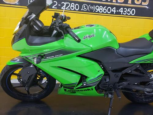 kawasaki ninja verde  250 r - 2012 - km 3000