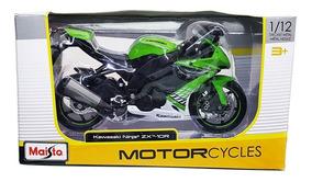 Kawasaki 10r Ninja De 112 Zx Colección Escala Maisto Moto mNw8n0