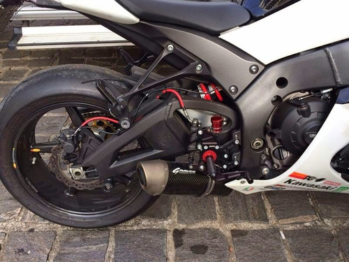 kawasaki ninja zx-10r moto esportiva 1000 cc preta 2011