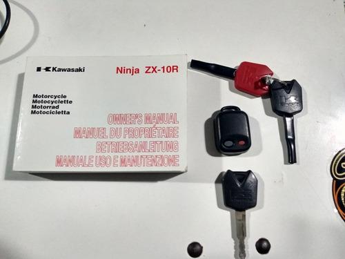 kawasaki ninja zx-10r permuto suv 4x4 o bmw gs 800