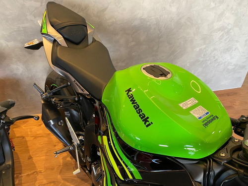 kawasaki ninja zx6r 636 - 2019 modelo 2020  verde
